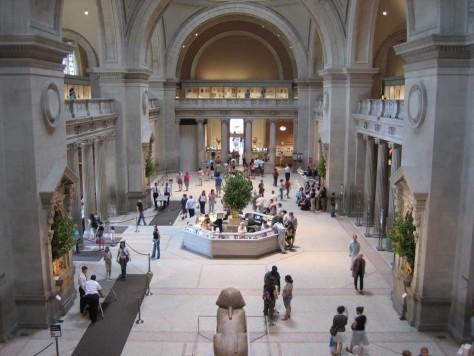 Interior of the Metropolitan Museum of Art