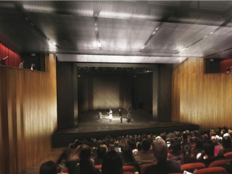 expansion of the Staatstheater