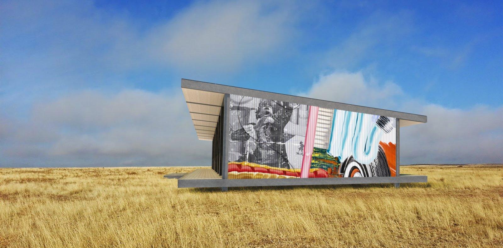 Desert Art House
