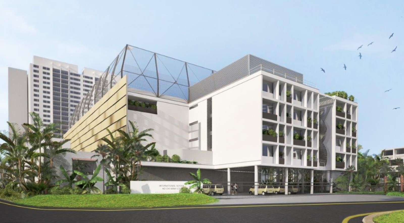 Design international school in vietnam by bogle architects for International architecture and design