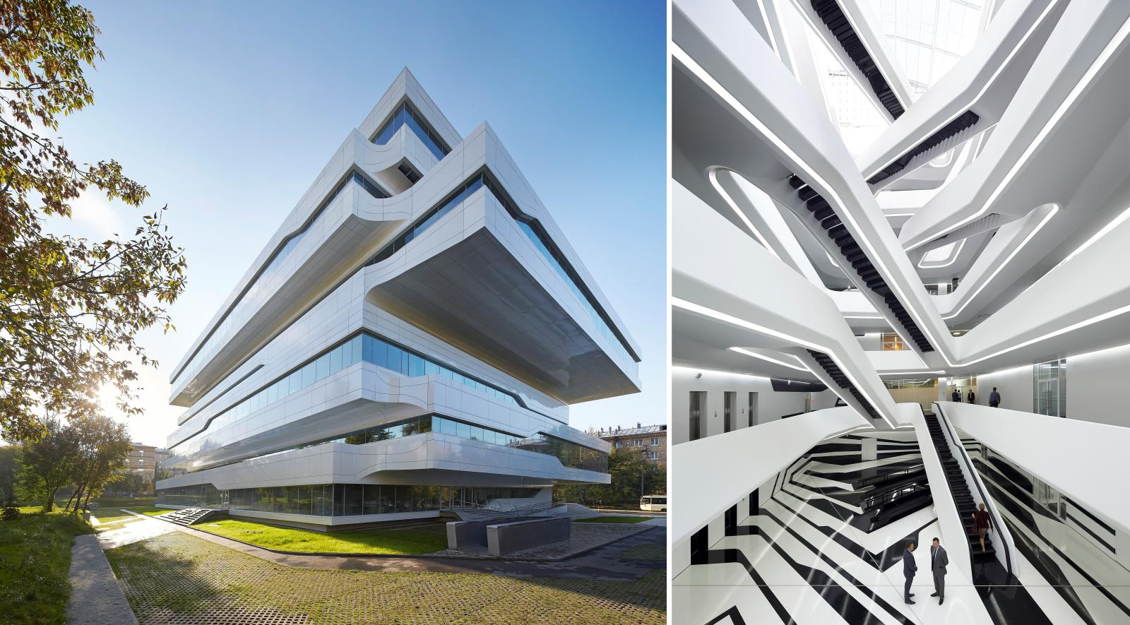Dominion office building by zaha hadid architects zha 00 for Architecture 00