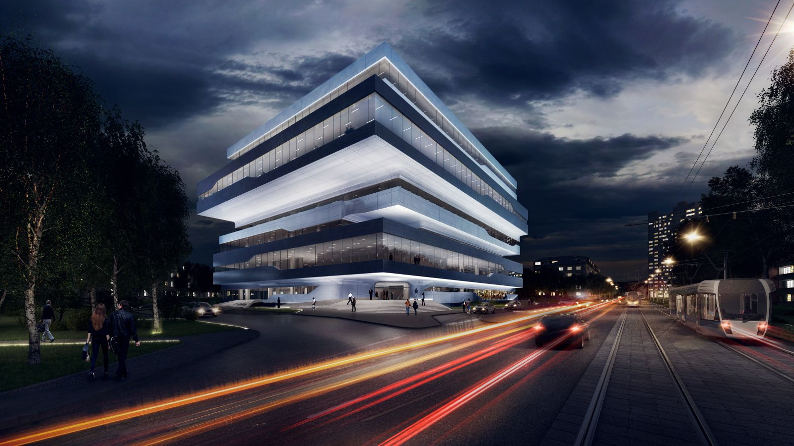 Dominion office building by zaha hadid architects zha 18 for Office design zaha hadid