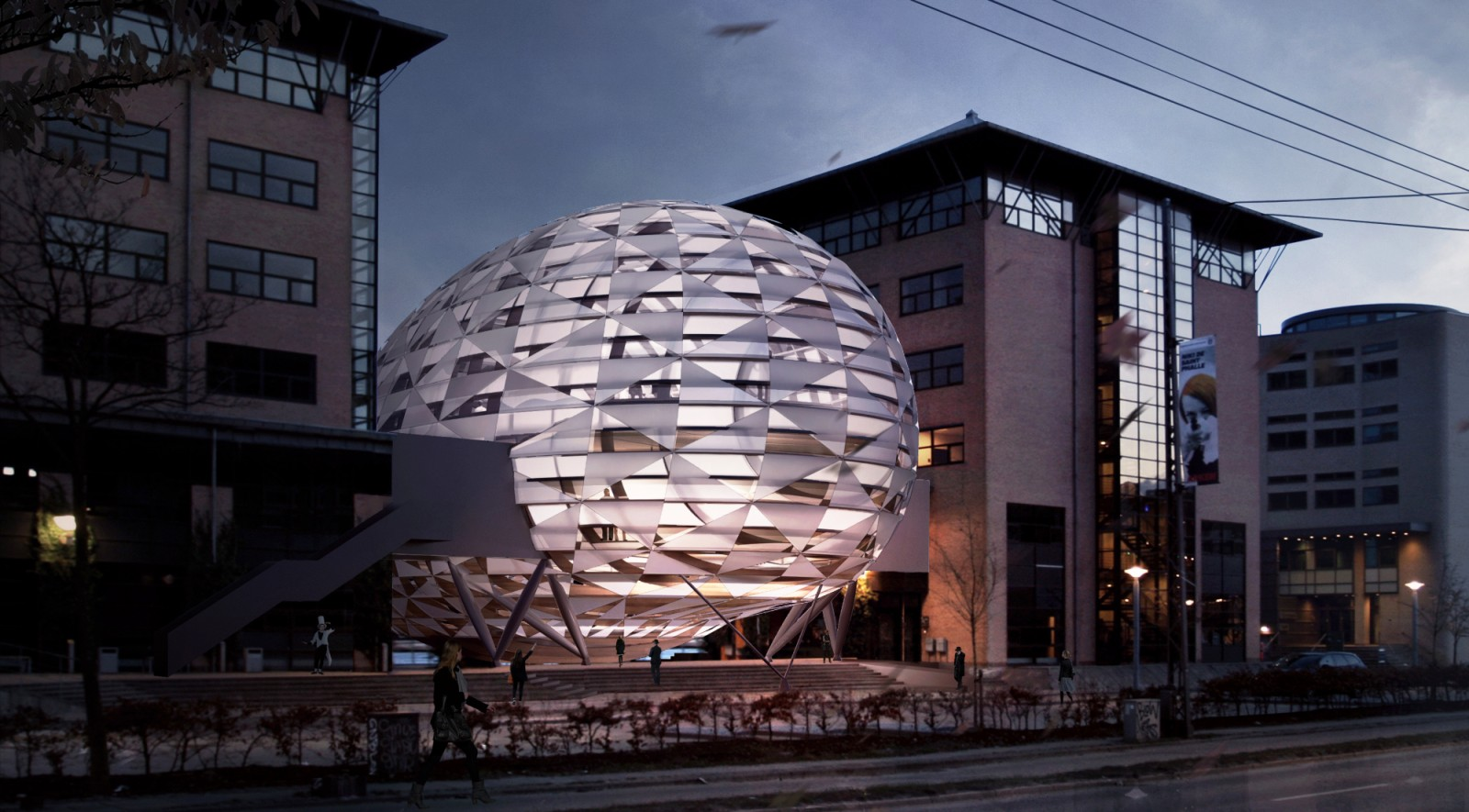 new visionary landmark in Copenhagen Harbour