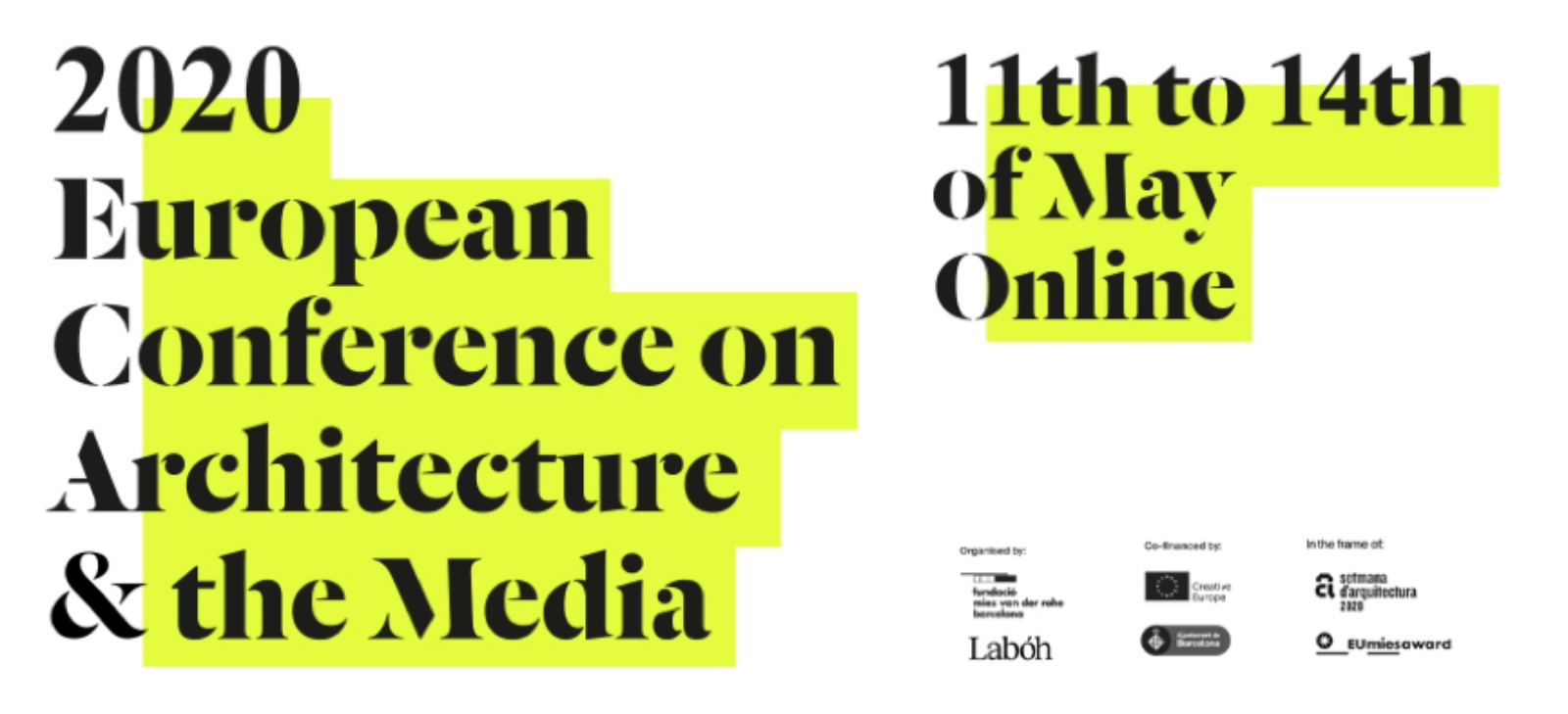 European Conference on Architecture and the Media