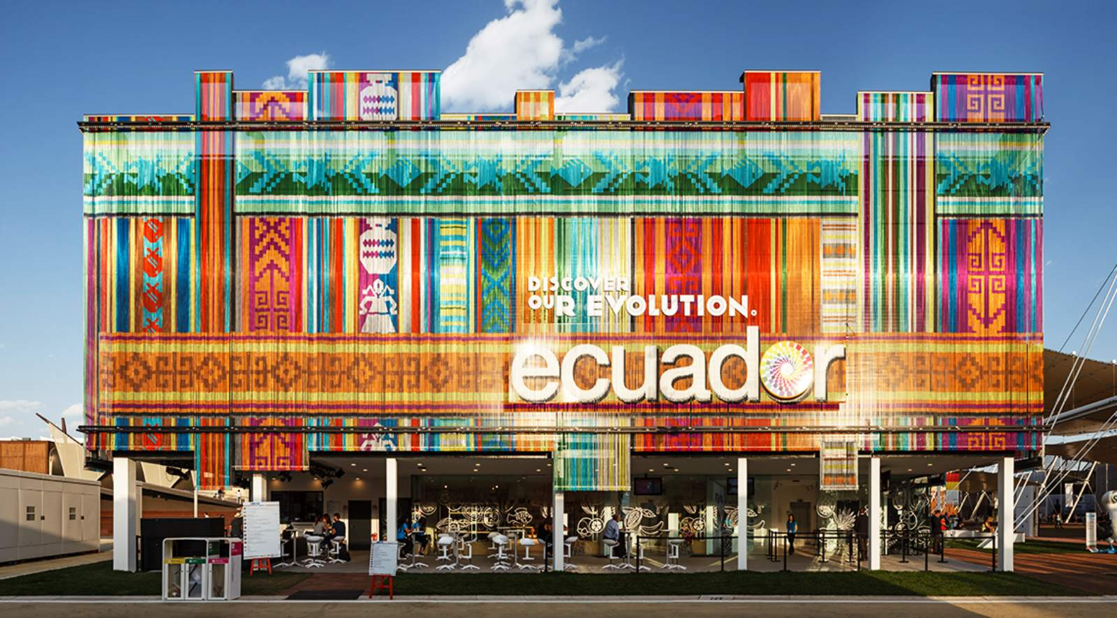 Ecuador pavilion expo 2015 by kriskadecor zorrozua y for Home decor expo 2015