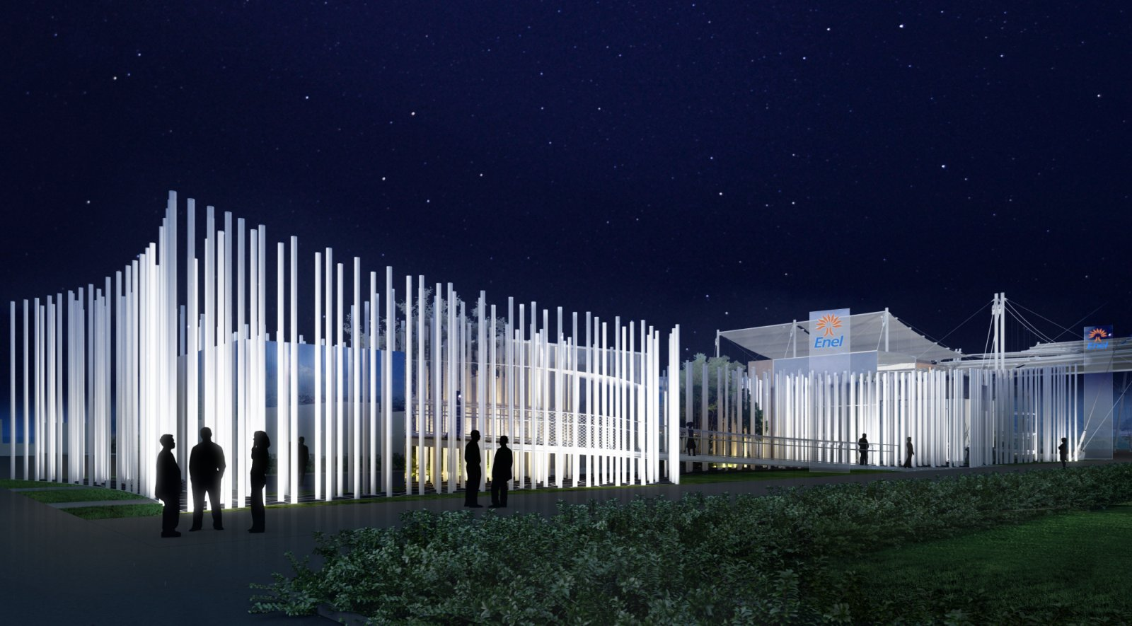 Enel pavilion for expo 2015 by piuarch for Home decor expo 2015