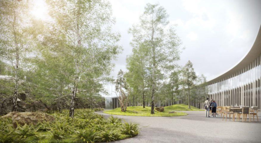 Entrance of Botanical Garden