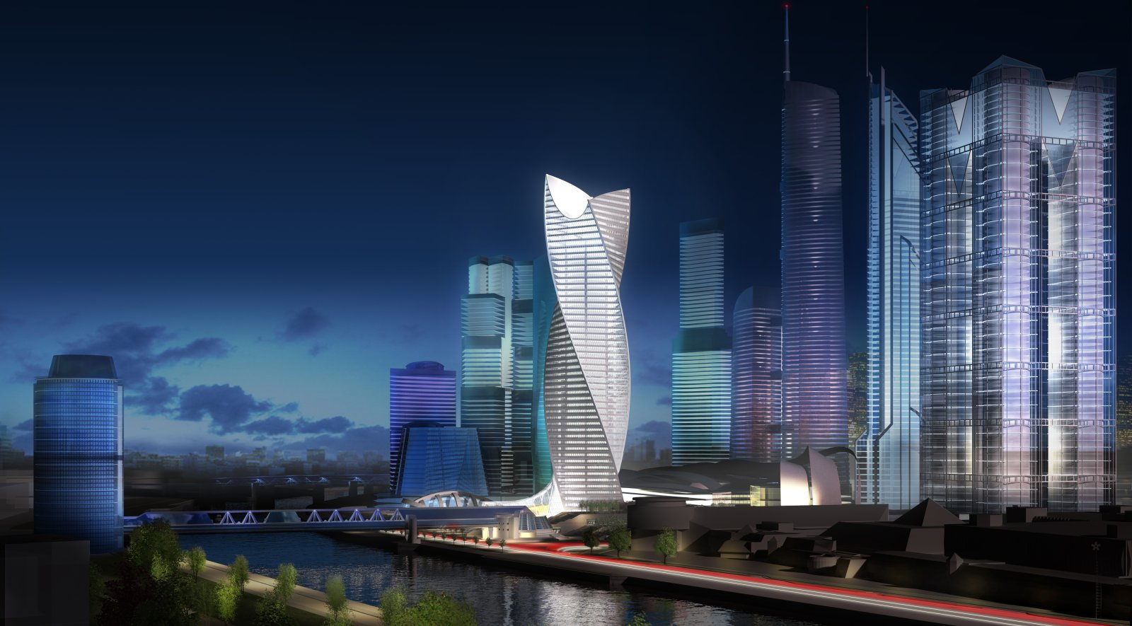 Evolution tower finalist for the best tall building in for Architecture evolutive