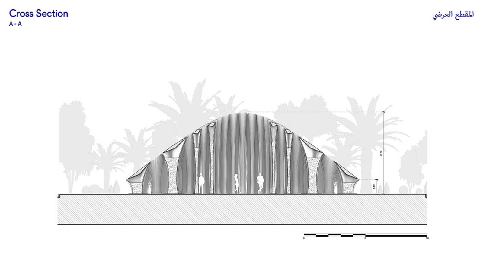Boulevard Roundabout Pavilion