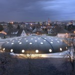Extension of the Tournesol swimming pool by Urbane Kultur
