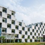 FPT administration building by Vo Trong Nghia Architects