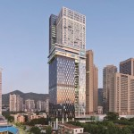 Facades on Spark's 220m Shuiwan 1979 tower in Shenzhen completed