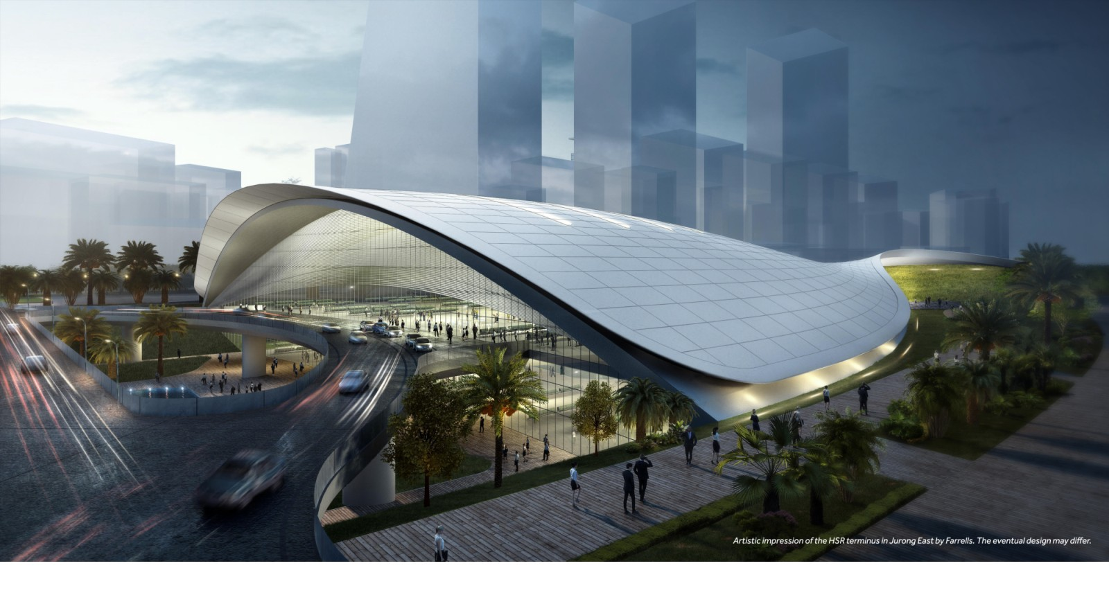 Singapore high-speed rail terminus