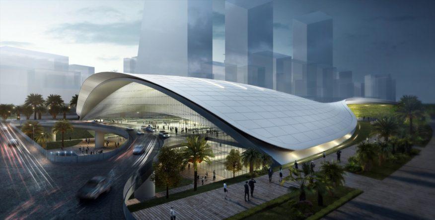 Singapore high-speed rail terminus