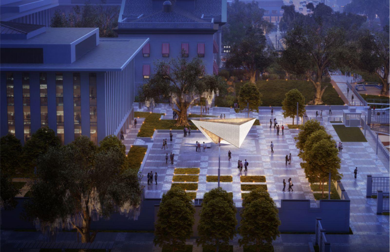 Florida Holocaust Memorial by Brooks + Scarpa