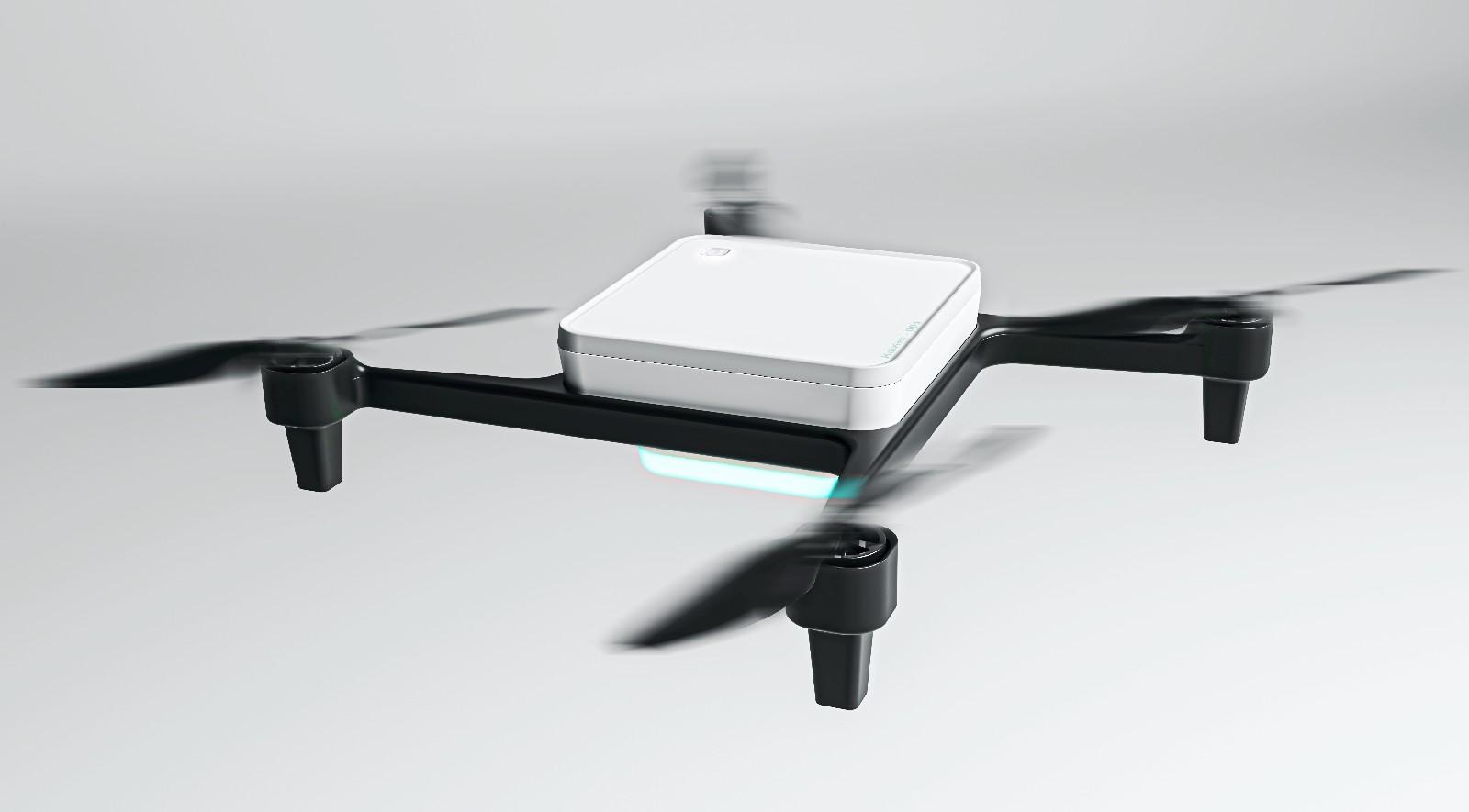 Flying Drone Blanke