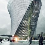 Flying Garden Tower by Coop Himmelb(l)au