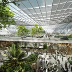 Foster + Partners proposed Design of Taiwan Taoyuan Airport