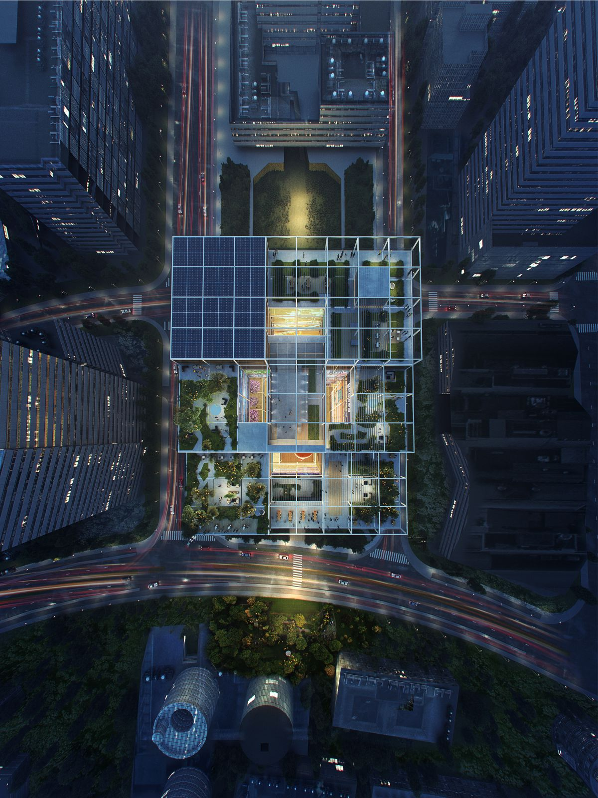 Alibaba's new offices