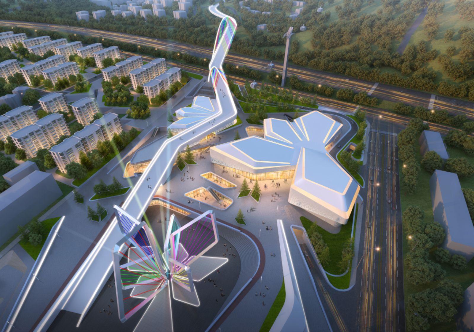 Chongli City Centre Olympics