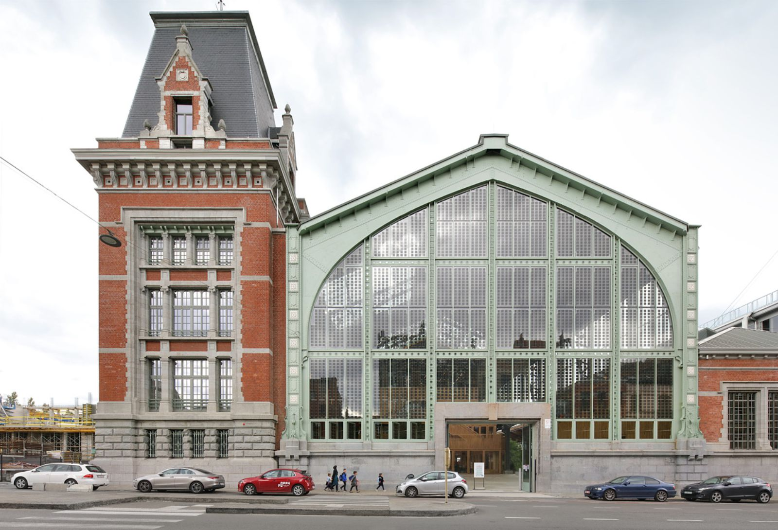 Gare Maritime by Neutelings Riedijk Architects