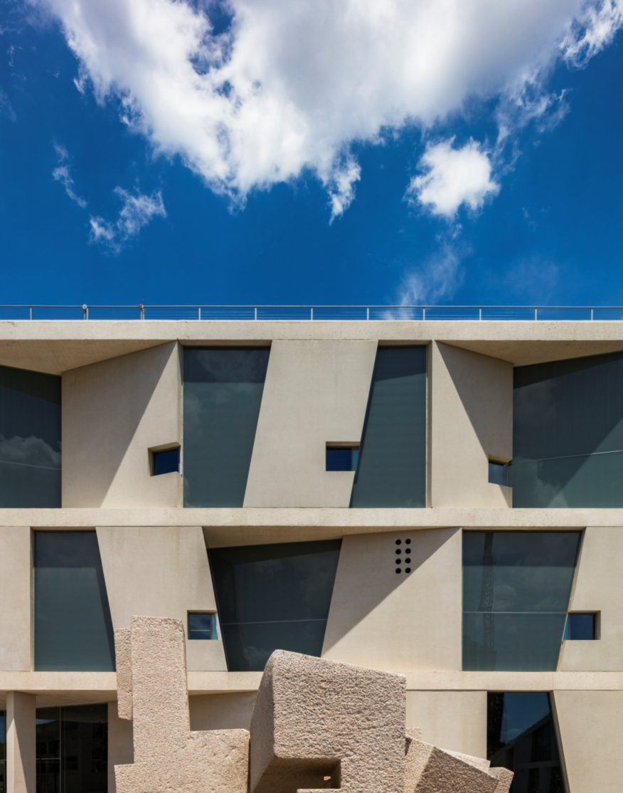 Glassell School Of Art And Bbva Compass Roof Garden By