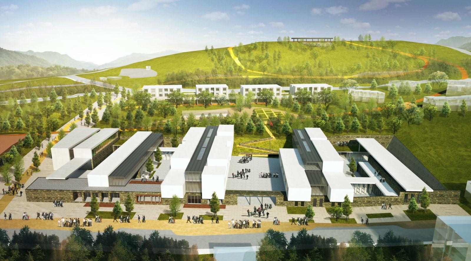 Gokceada High School Campus