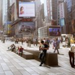 Grand Opening of Times Square pedestrian plazas by Snøhetta