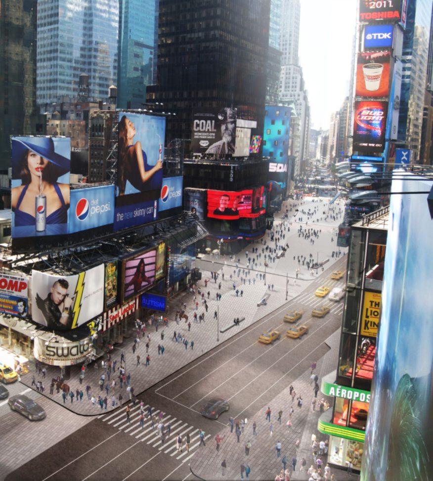 Times Square pedestrian plazas