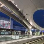Graz Main Station by Zechner & Zechner