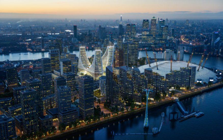 Greenwich Peninsula scheme
