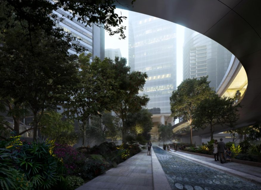 new public space in Hong Kong