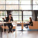 HUBB modular interior concept by Mecanoo and Gispen