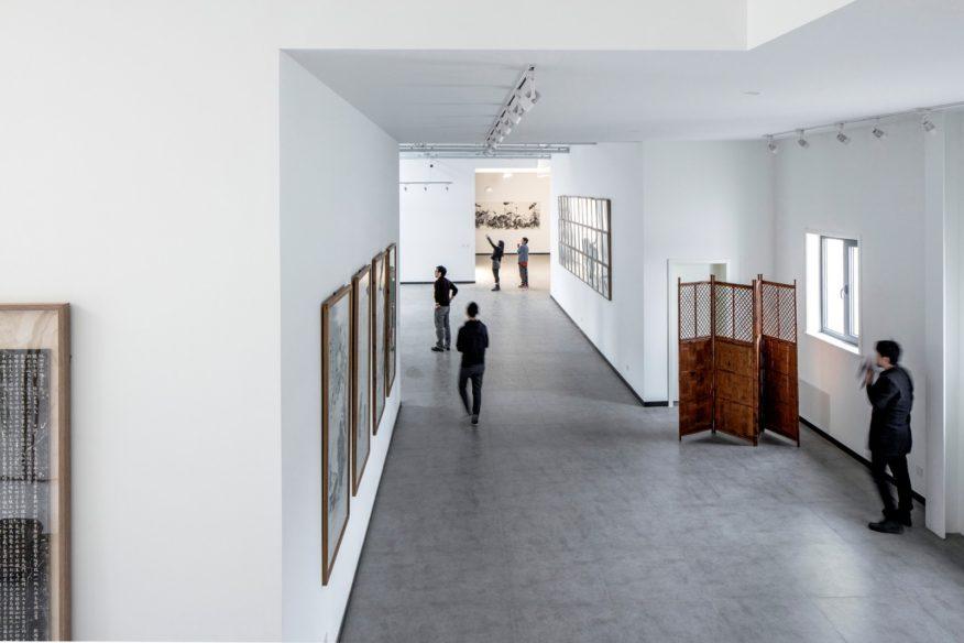Hall within cloud-Art studio