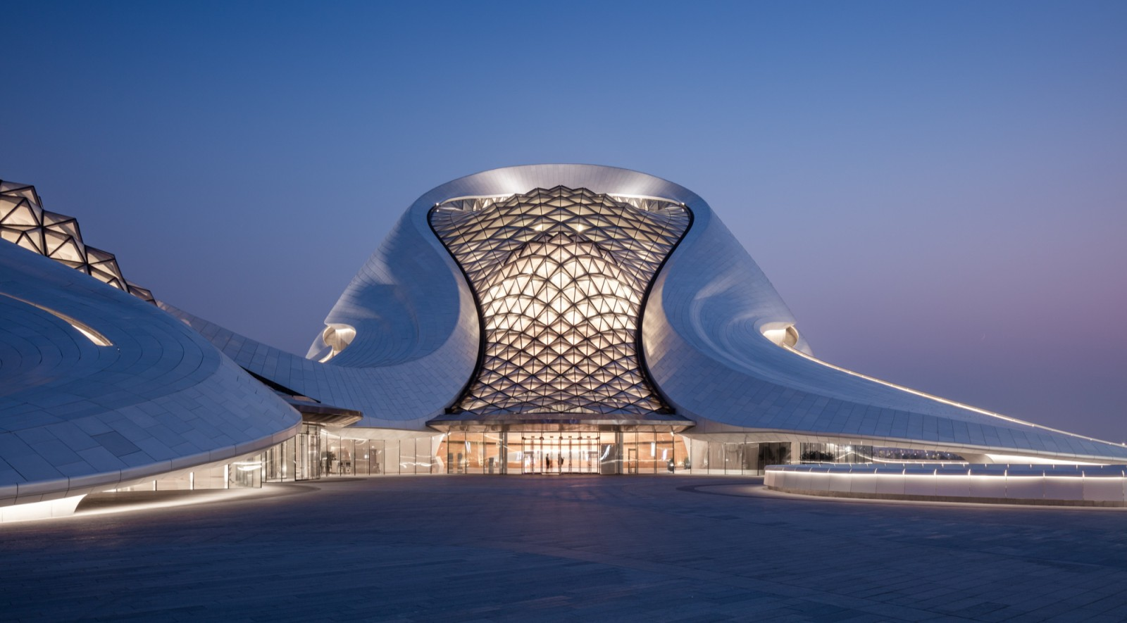 Harbin Opera House By Mad Architects on Modern Front House Elevation Designs