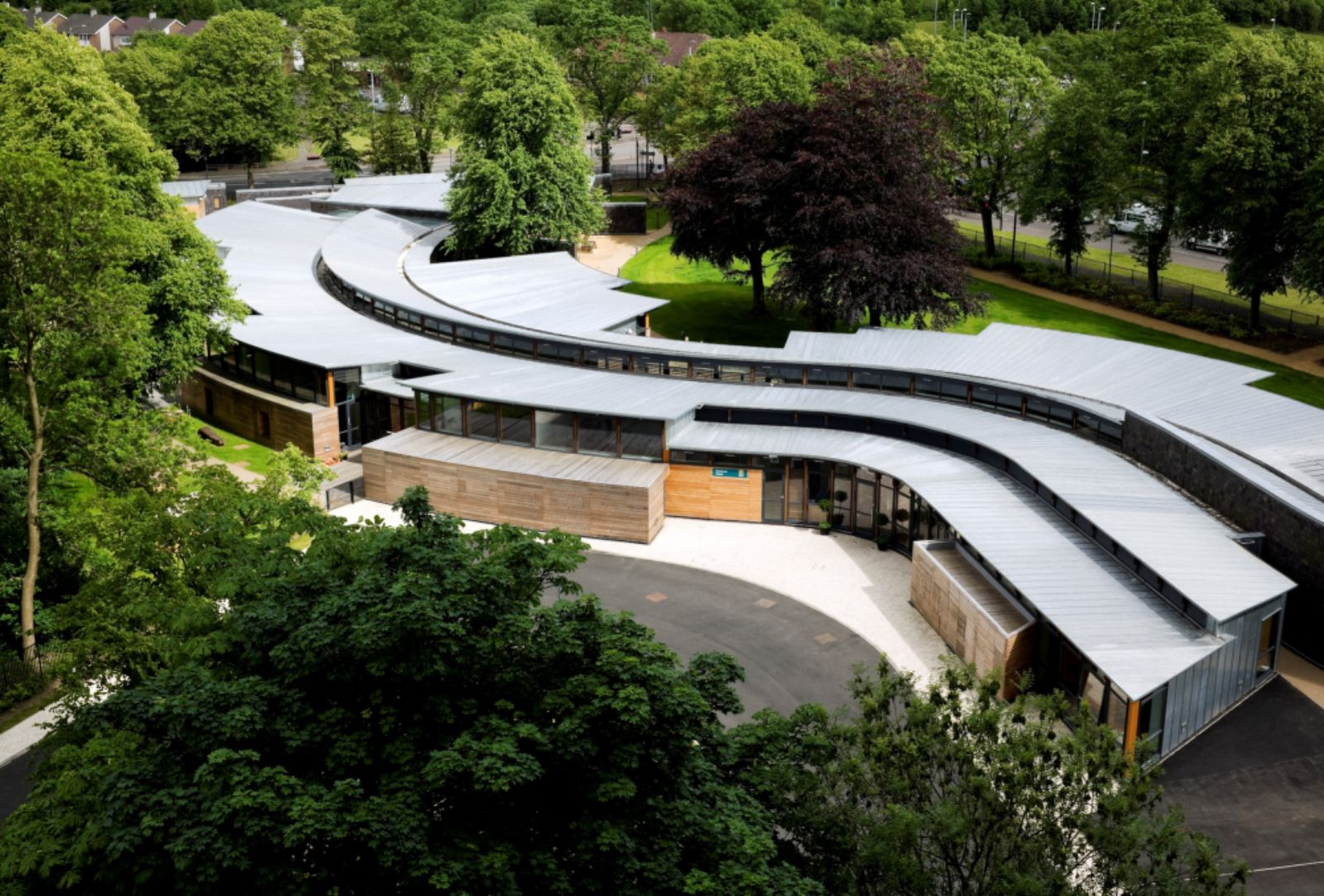 Hazelwood School Glasgow By Alan Dunlop Architect 01