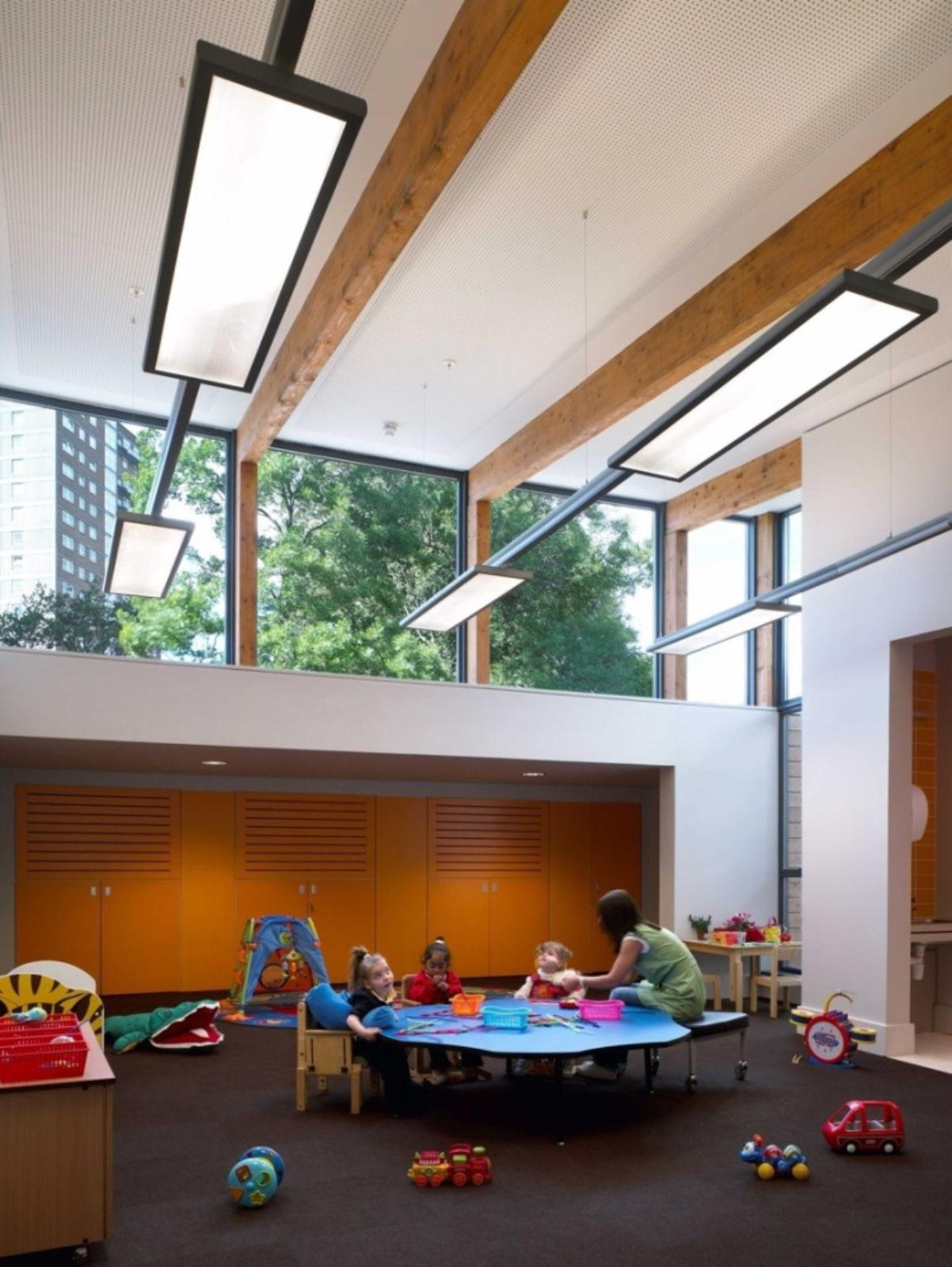 Hazelwood school glasgow by alan dunlop architect 10 for Ecole architecture interieur