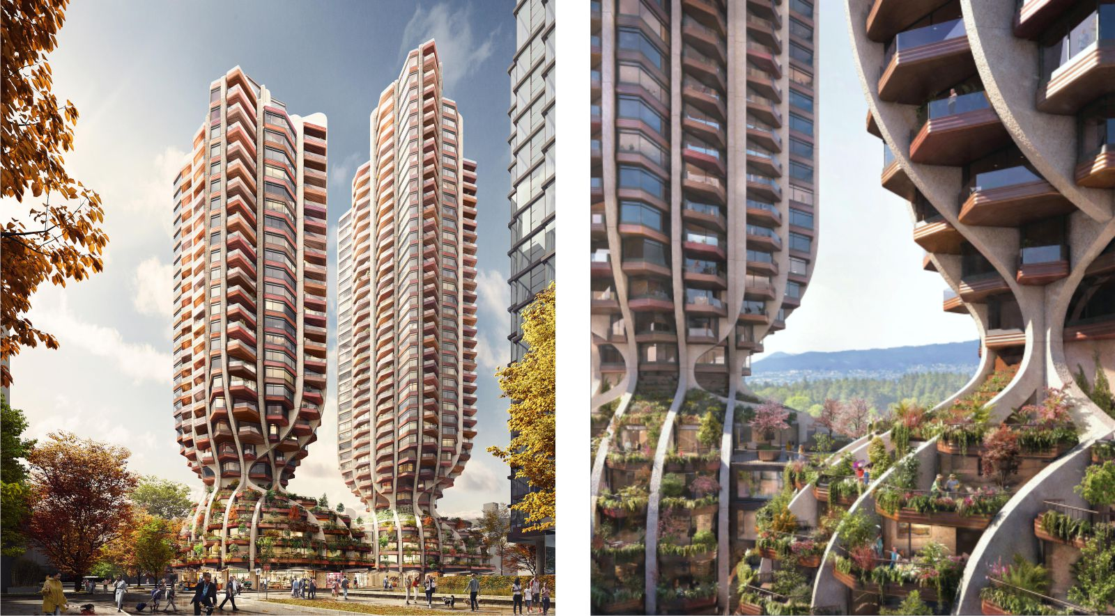 new residential project in Vancouver