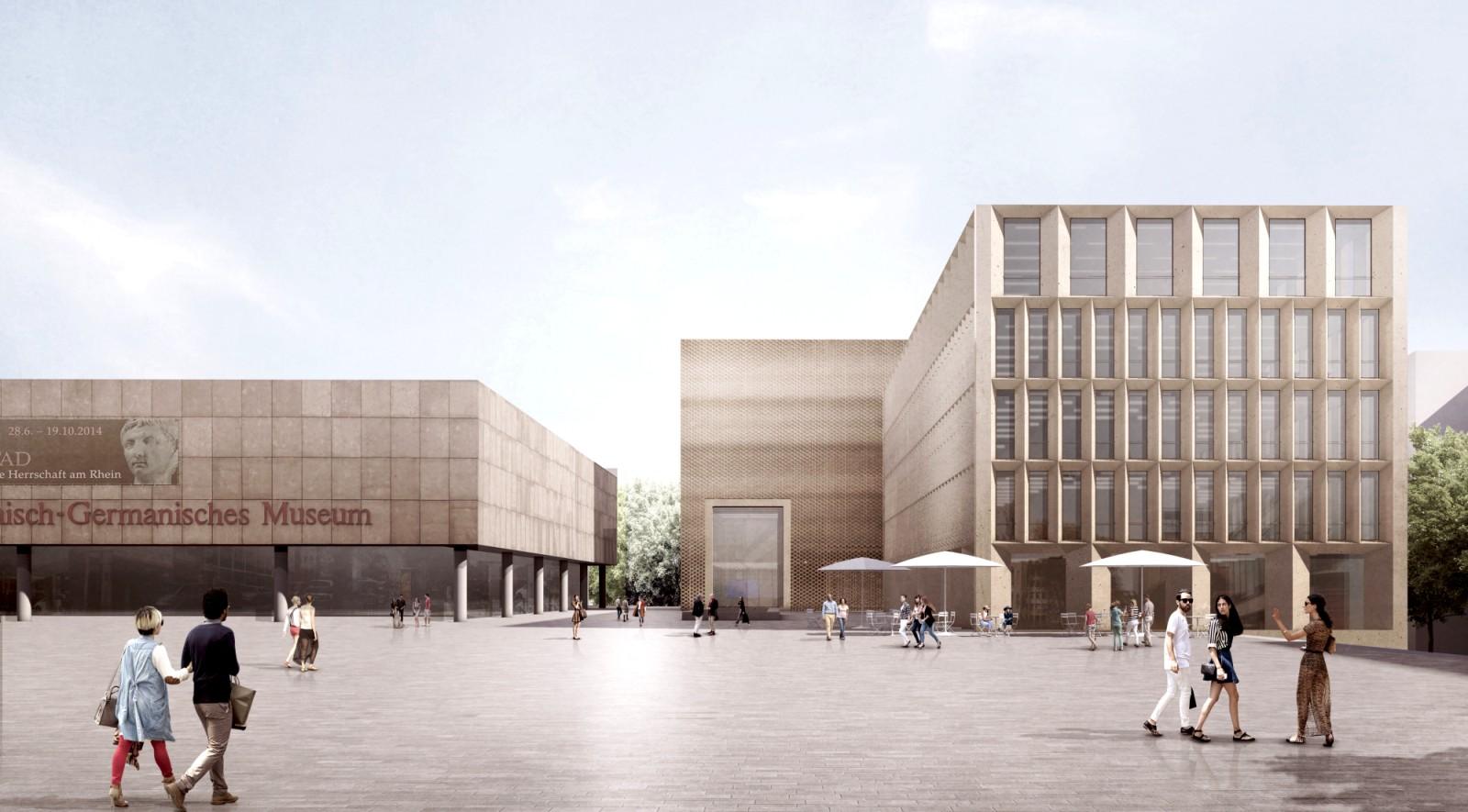 Architekten Köln historische mitte koln by staab architekten 00