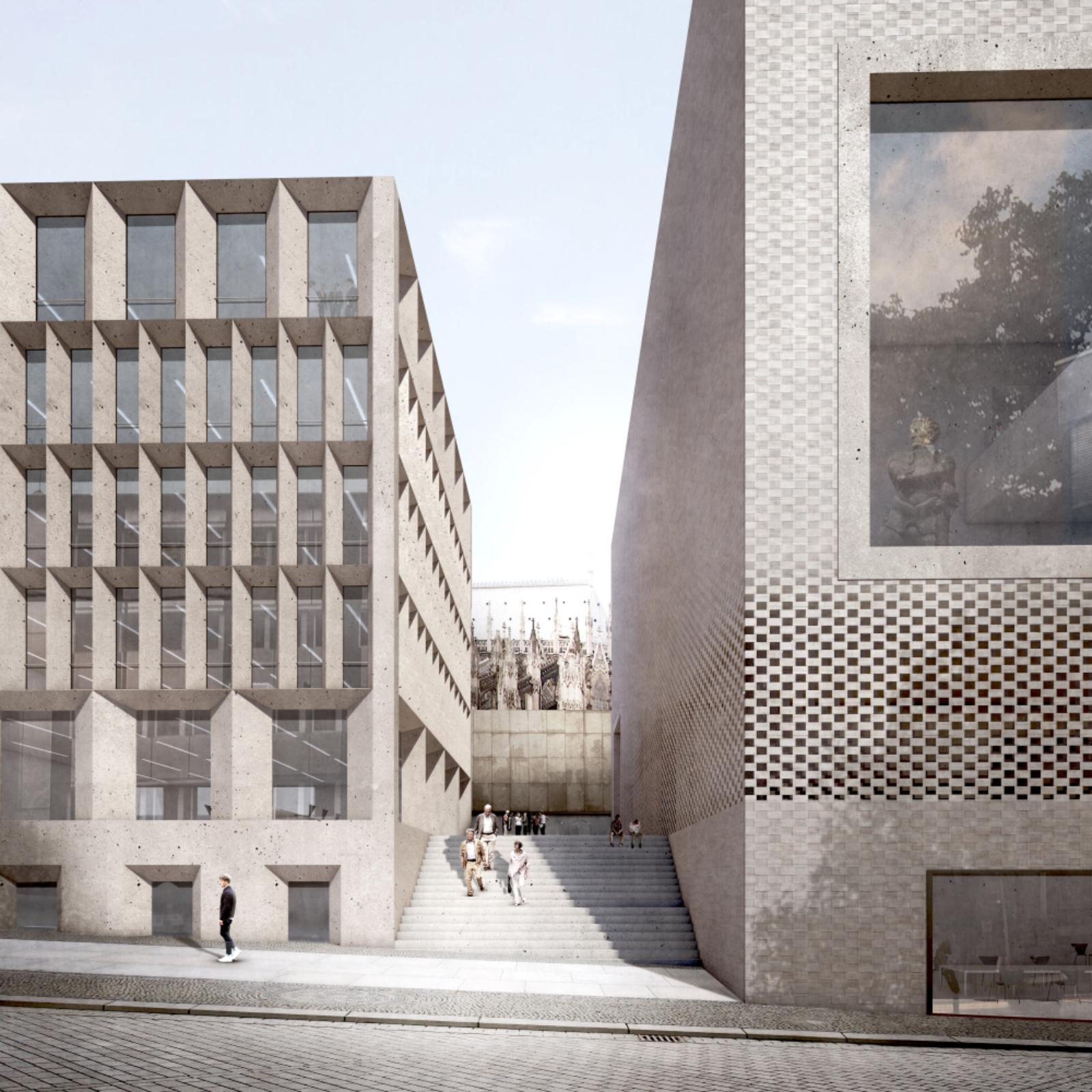 Architekten Köln historische mitte koln by staab architekten 03