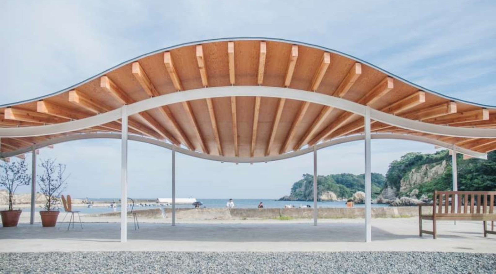 Home for all in tsukihama by sanaa for For architecture