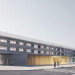 Hospital of Viladecans Extension and Renovation by Ramon Esteve Estudio