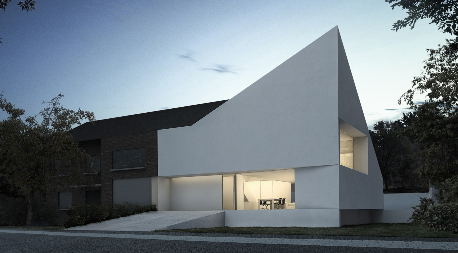 House in brussels by fran silvestre arquitectos for Pictures for the house