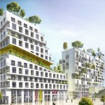 Housing block in Paris ZAC Rive Gauche by SeARCH