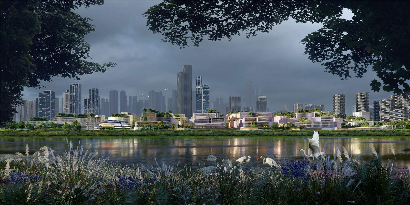 Huanggang Port Area
