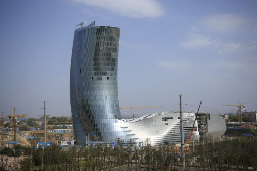 Ice World and Five Star Hotel Tower