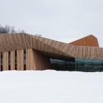 Iiyama Cultural Hall by Kengo Kuma