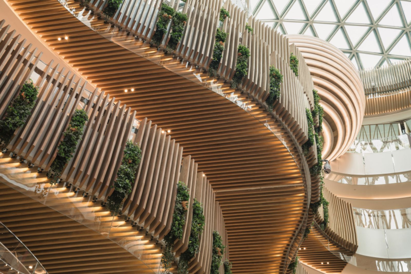 Inside Benoy's 'City park' retail development in Tianjin