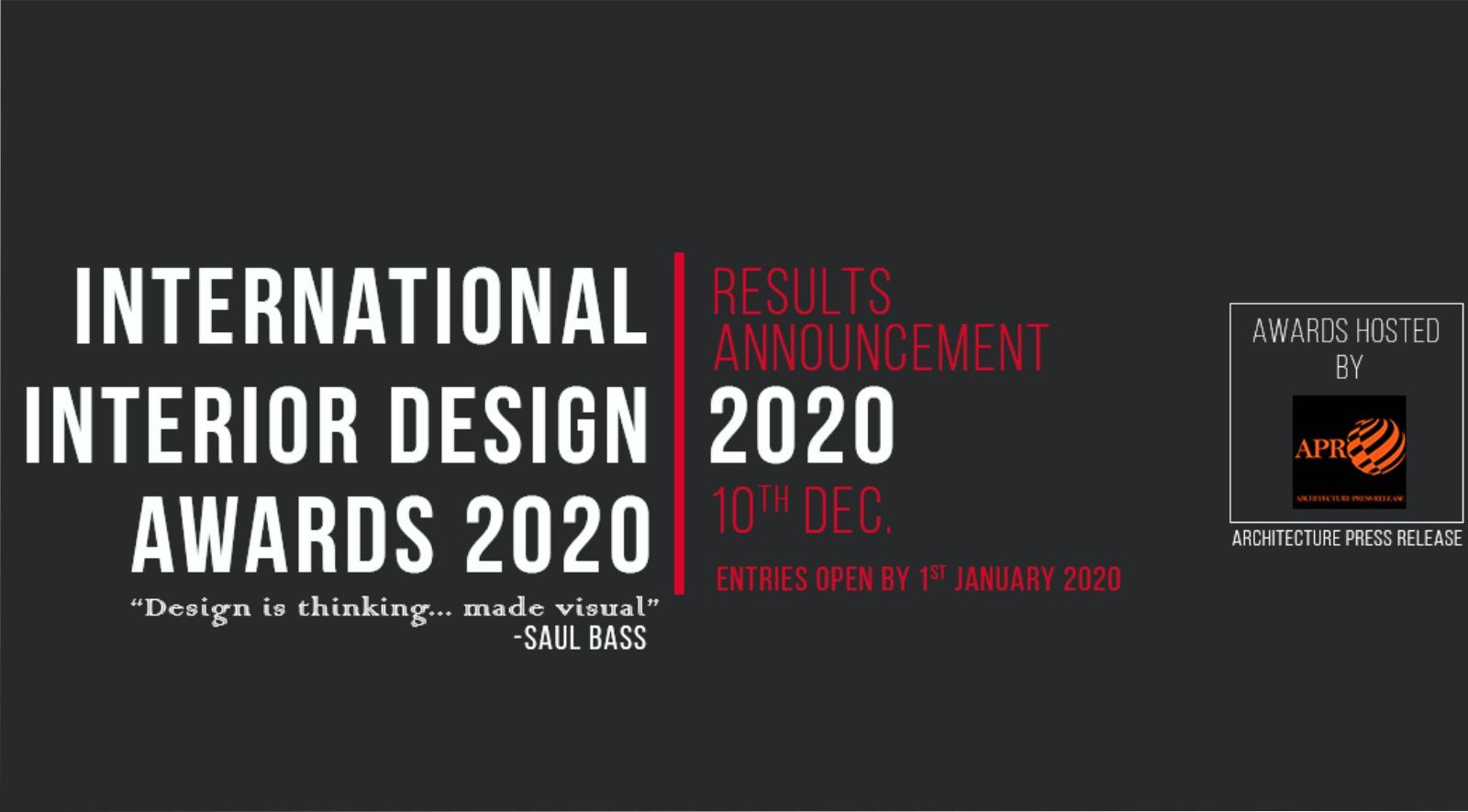 International Interior Design Awards