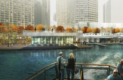 Jack Layton Ferry Terminal and Harbour Square Park